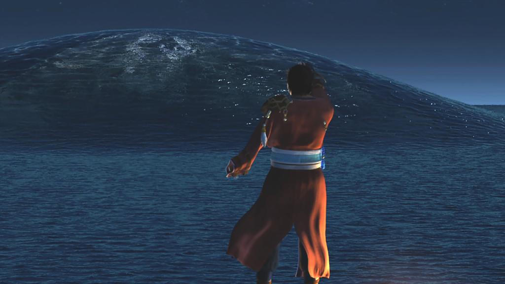 Una de las escenas mas épicas del juego