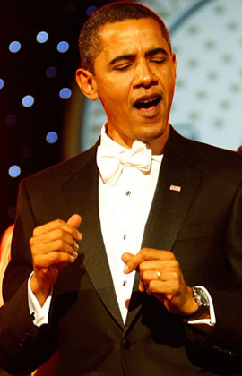 Obama ya se está desnucando.