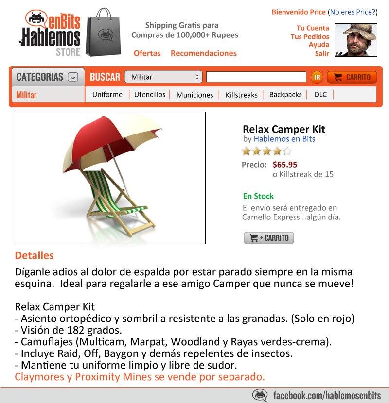 Relax Camper Kit